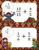 Adding Fractions with Unlike Denominators Computation - Math Scavenger Quest