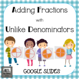 Adding Fractions with Unlike Denominators - Google Slides