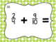 Adding Fractions with Unlike Denominators- Task Cards- Set of 20