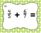 Adding Fractions with Unlike Denominators- Task Cards- Set of 20