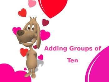 Adding Groups of Ten PowerPoint
