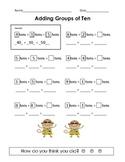 Adding Groups of Ten