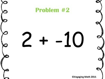 Adding Integers -10 to +10