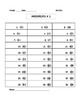 Adding Integers (4 different Worksheets ANSWERS INCLUDED)