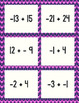 Adding Integers Board Game: CCSS 7.NS.1