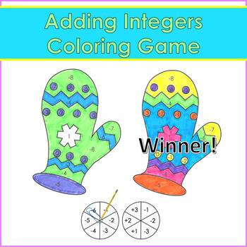 Color by Number - Integer Operations Coloring Competition
