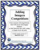 Adding Integers Competitions
