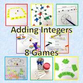 Adding Integers Games Bundle