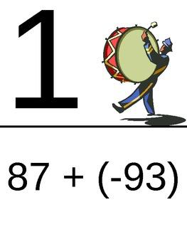 Adding Integers - Harder Problems
