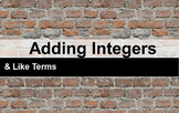 Adding Integers Interactive Flipchart (2-color counters)