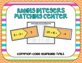 Adding Integers Center