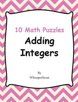 Adding Integers Puzzles