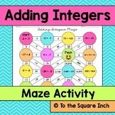 Adding Integers Maze