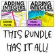 Adding Integers Lesson Bundle