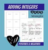 Adding Integers: Positives & Negatives