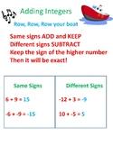 Adding Integers Poster