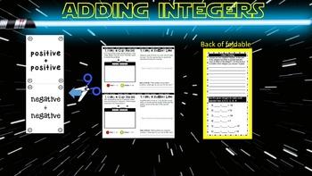 Adding Integers Same Sign 6.3D