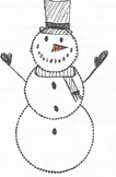 Adding Integers Snowman Drawing Game (& Robot)