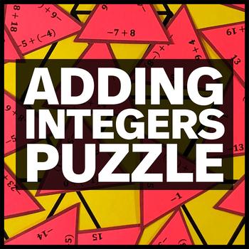 Adding Integers Triangle Puzzle #2
