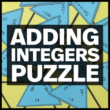 Adding Integers Triangle Puzzle #3