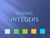 Adding Integers Tutorial