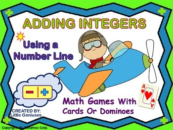 Adding Integers Using A Number Line Is Fun