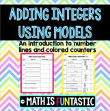 Adding Integers Using Models