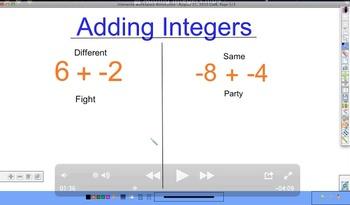 Adding Integers Video