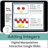 Adding Integers | Zero Pairs | Interactive Digital Visual Models
