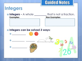 Adding Integers with the Same Sign