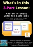 Adding Integers with the Same Sign (3 Part Series) - 1.1
