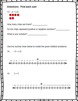 Adding Integers with the Same Sign – 7th Grade Number System