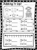 Adding It Up! 10 Math Worksheets. Numbers 0-10. Preschool-