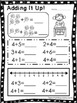 Adding It Up! 10 Math Worksheets. Numbers 0-10. Preschool-