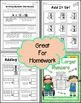 Adding Larger Numbers for Kinders Practice Printables