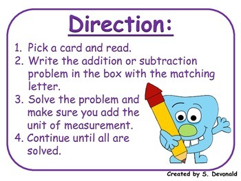 Adding and Subtracting Length