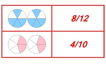 Adding Like Denominators in Fraction Concentration Red Game