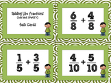 Adding Like Fractions - Add and Simplify