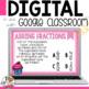 Adding Like Fractions Digital Task Cards for Google Classroom