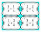 Adding Like Fractions Differentiated Word Problem Task Cards