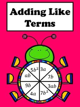 Adding Like Terms