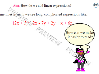 Adding Linear Expressions