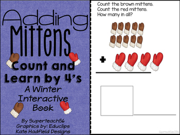 Count and Add Fact Families (Mitten Fact Family 4)