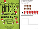 Adding Mittens Count, Add and Learn by 9's WINTER EDITION