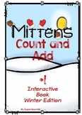 Count and Add Fact Families (Mitten Fact Family 1)