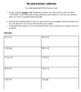 Adding Mixed Numbers Interactive Notebook Foldable & Save the Teacher Game