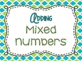 Adding Mixed Numbers PowerPoint