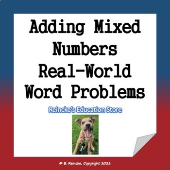 adding mixed numbers in the real world word problems 3 worksheets. Black Bedroom Furniture Sets. Home Design Ideas