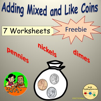 Adding Mixed and Like Coins