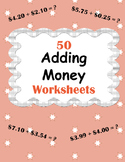 Adding Money Worksheets